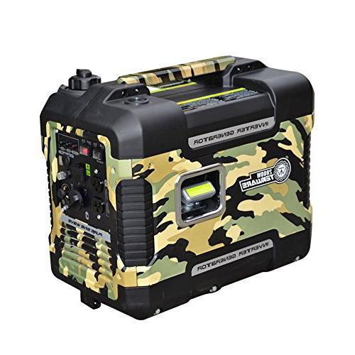 lightweight silent portable inverter generator