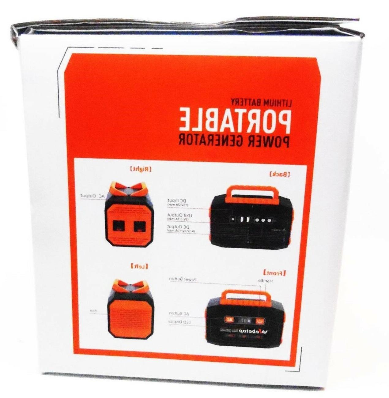 Webetop Power Generator