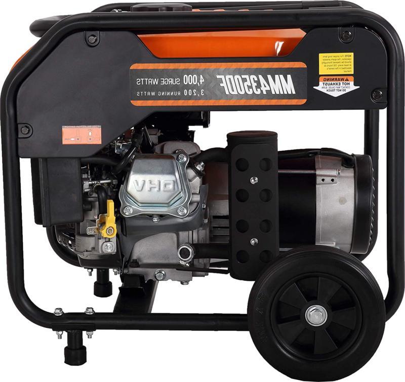 Mech 4000 Dual Fuel Generator Carb