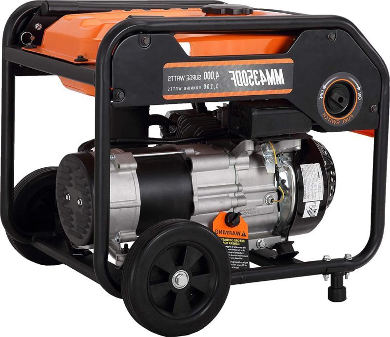 Mech 4000 Dual Fuel Portable Power Carb C