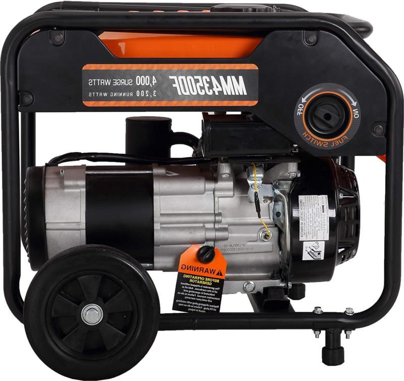 Mech Marvels 4000 Watt Dual Generator Carb C