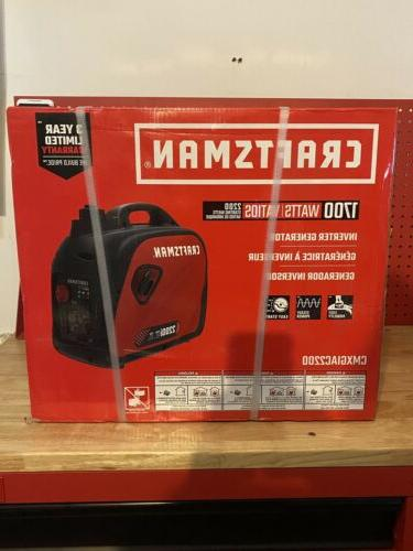 new 1700w gas inverter generator cmxgiac2200 2200