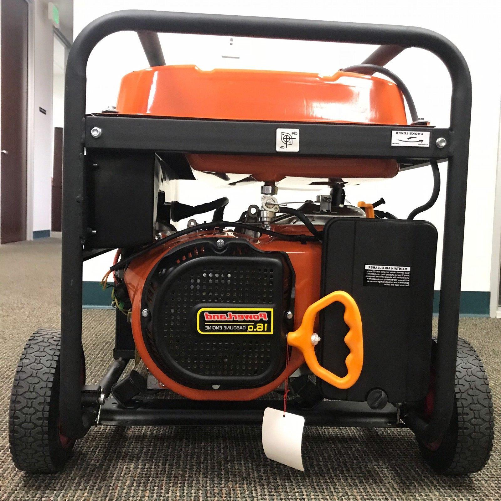 Upgraded-PowerLand PD10000E Gas Electric