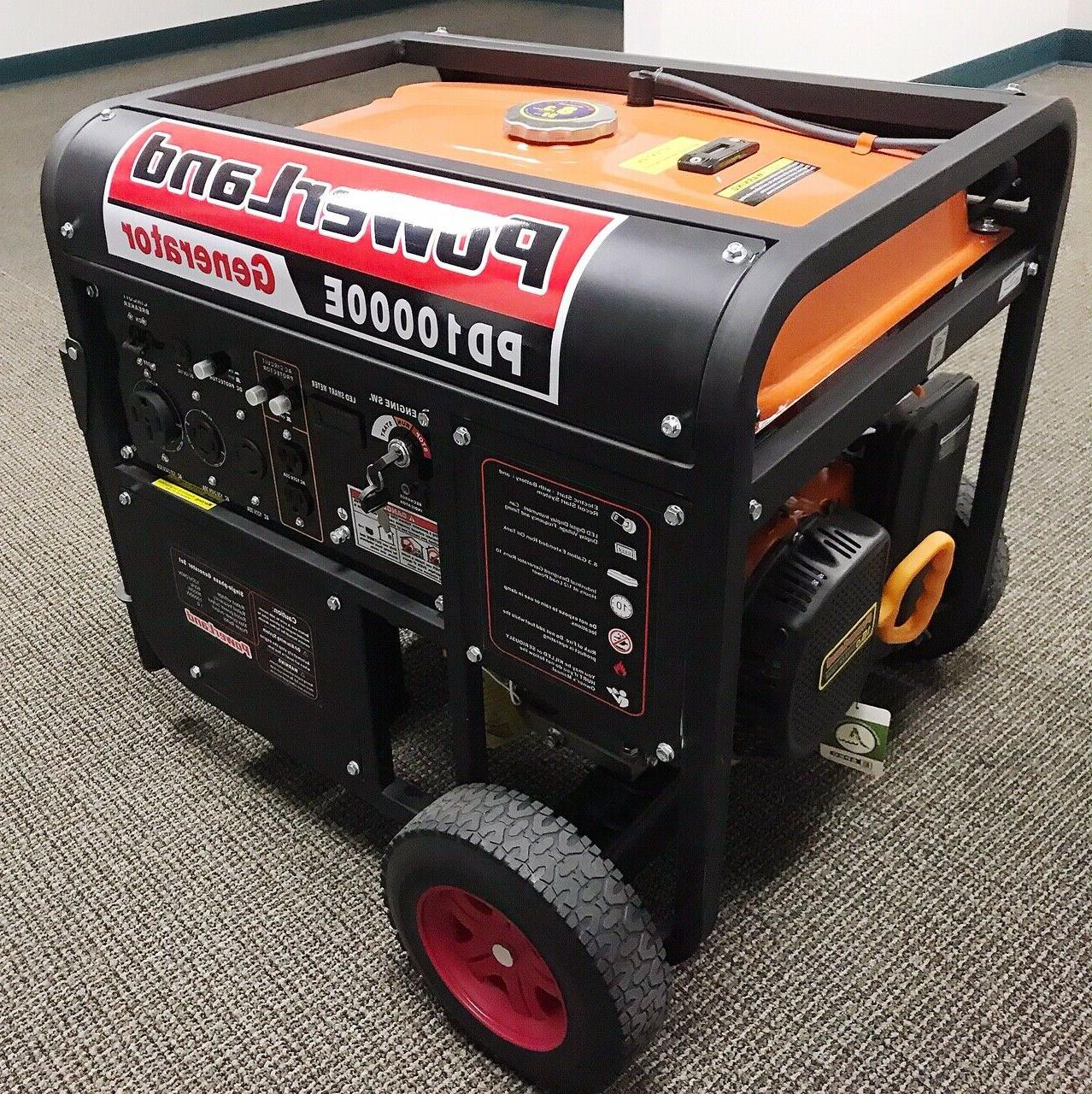 Upgraded-PowerLand Gas Generator Electric