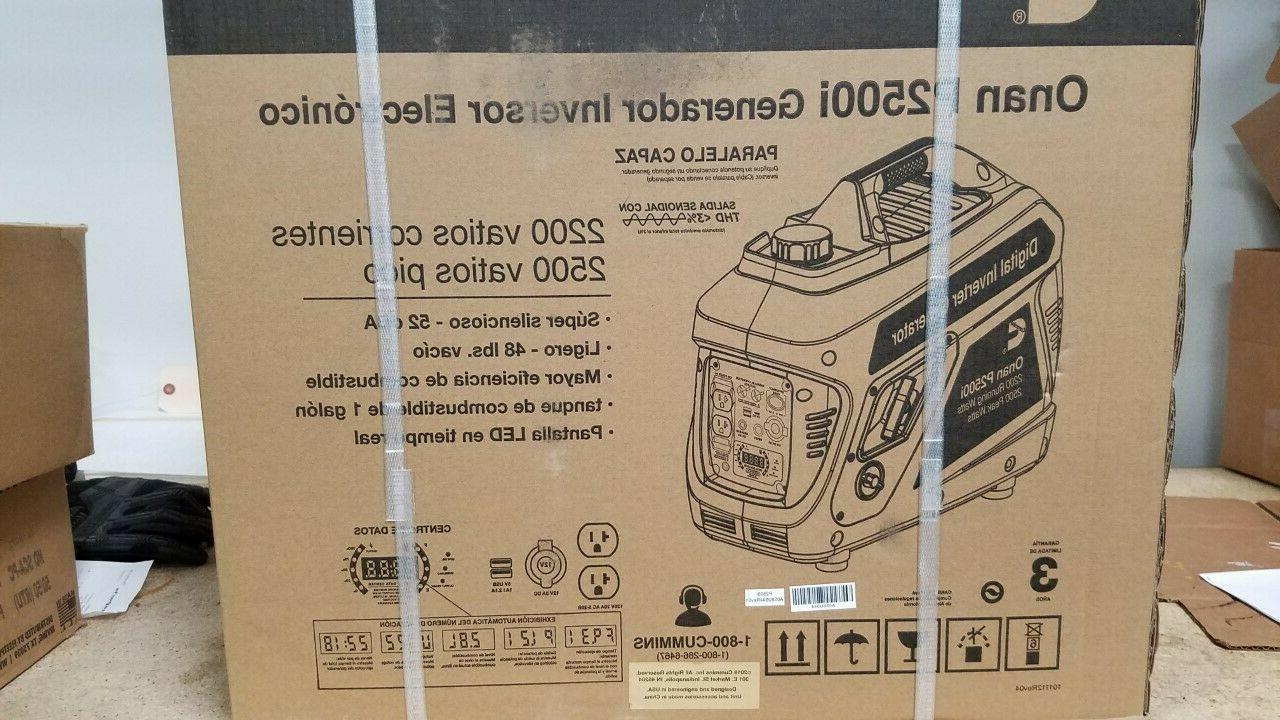 new onan p2500i portable gas generator a058u944