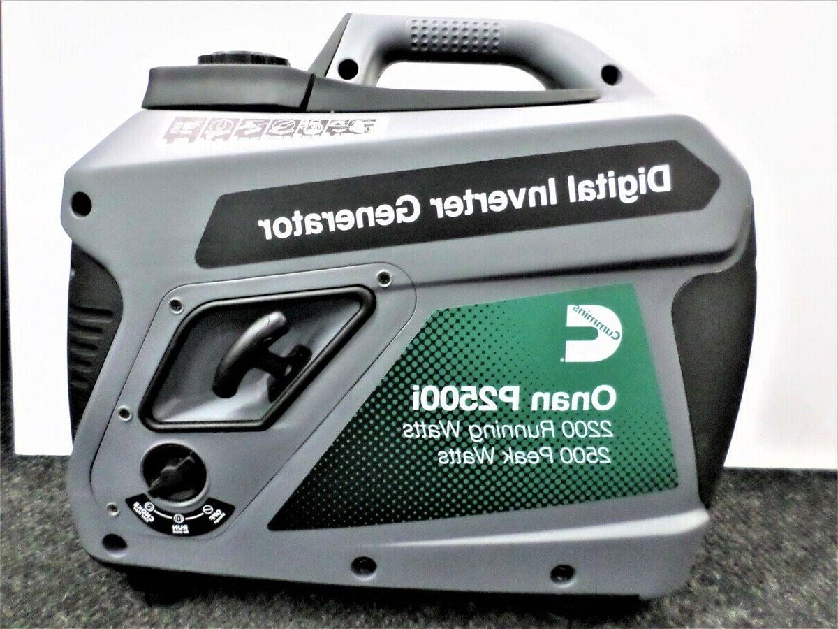 onan p2500i inverter portable generator