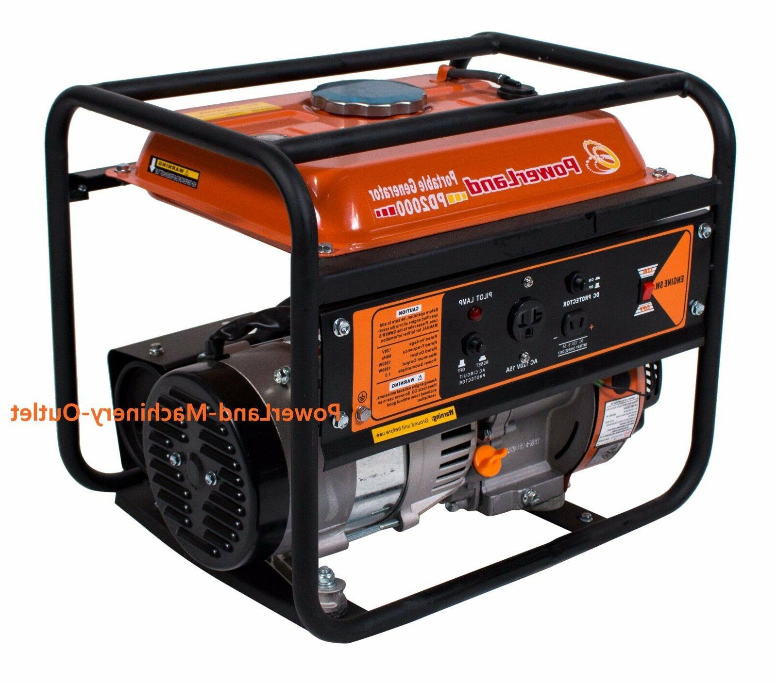 PowerLand PD2000 Portable Watt Gas Start