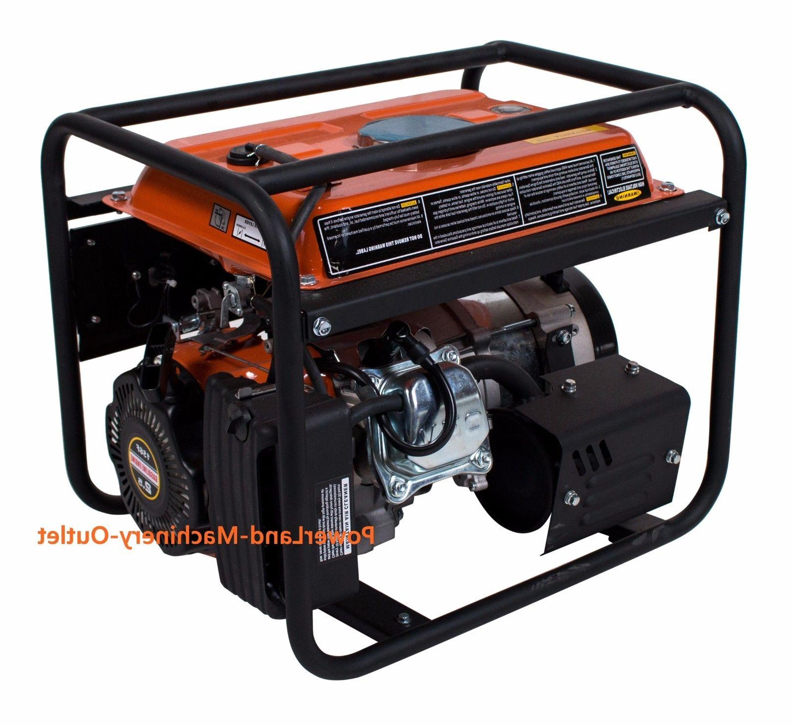 PowerLand Portable 1500 Watt 2.4HP Gas Generator/Recoil Start
