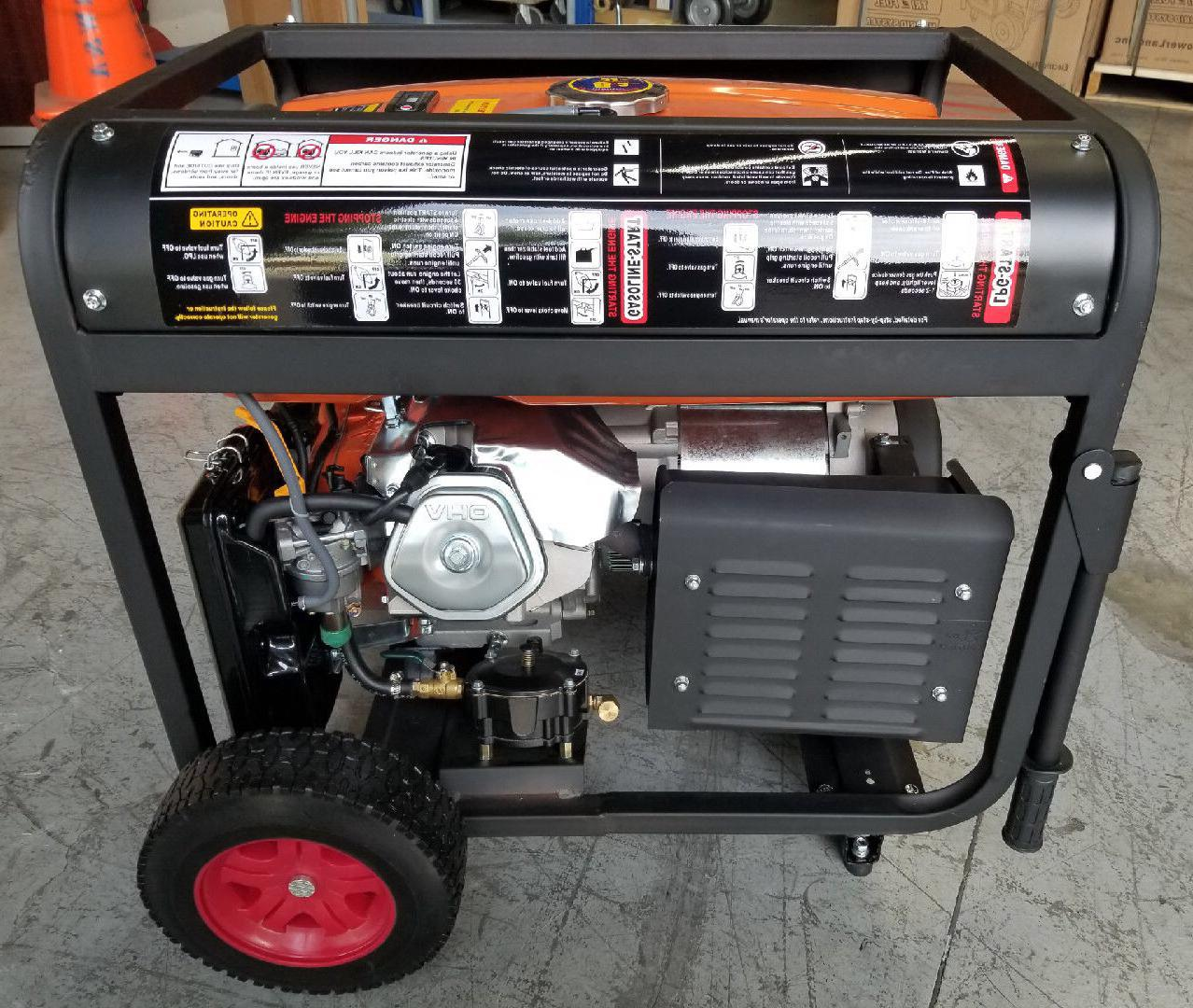 PowerLand PD2G10000E Dual Generator Start