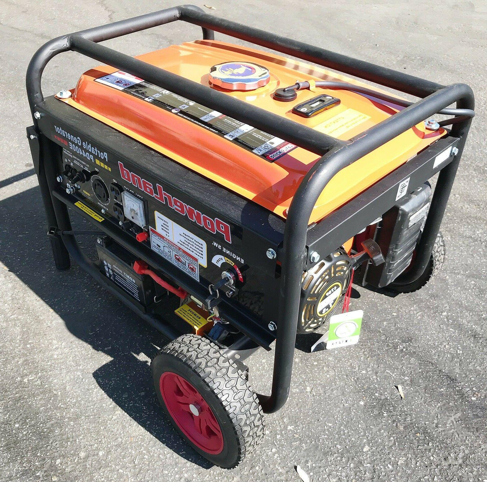 PowerLand PD4400E Portable Watt Start