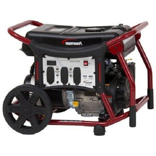 pm0126000r portable generator 6000 watt 414cc reconditioned