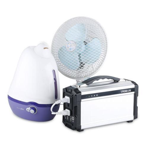 Portable 222Wh Solar Generator Power Supply Energy Storage Invertor