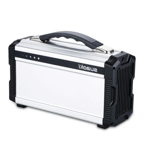Portable 222Wh Solar Generator Supply Storage