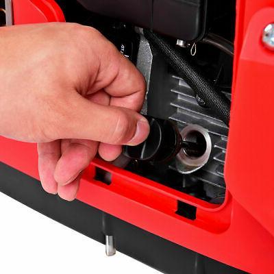 Portable 2750W Digital Generator 4 125cc Single Cylinder Red New