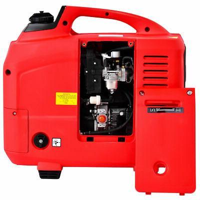 Portable 2750W Digital Single Cylinder Red