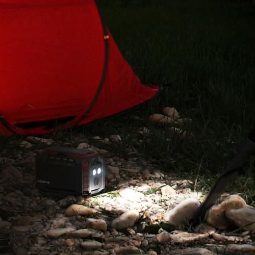Suaoki Portable 3 USB 150Wh Solar Power Generator