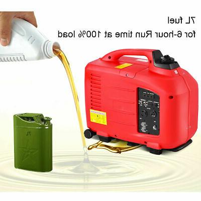 Portable 3500W Generator Single Cylinder Red