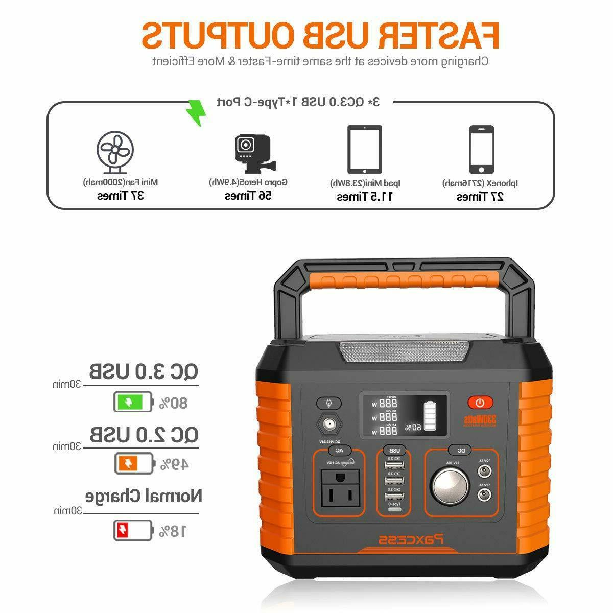 Portable Camping 330W/78000mAh Portable Power CPAP Battery P