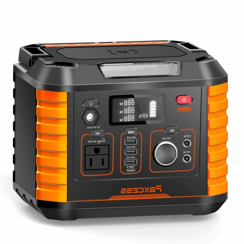 portable camping generator 330w 78000mah portable power