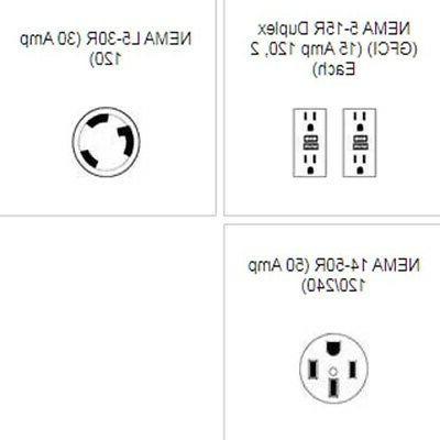 Portable Diesel Generator 5000 Watts - 120 / 240 Volts - 1 HP