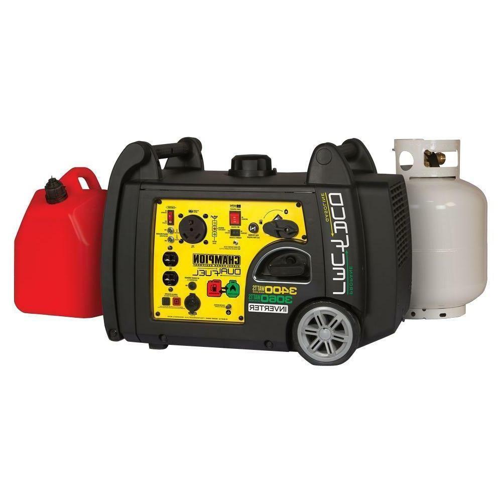 Portable Start Dual Generator