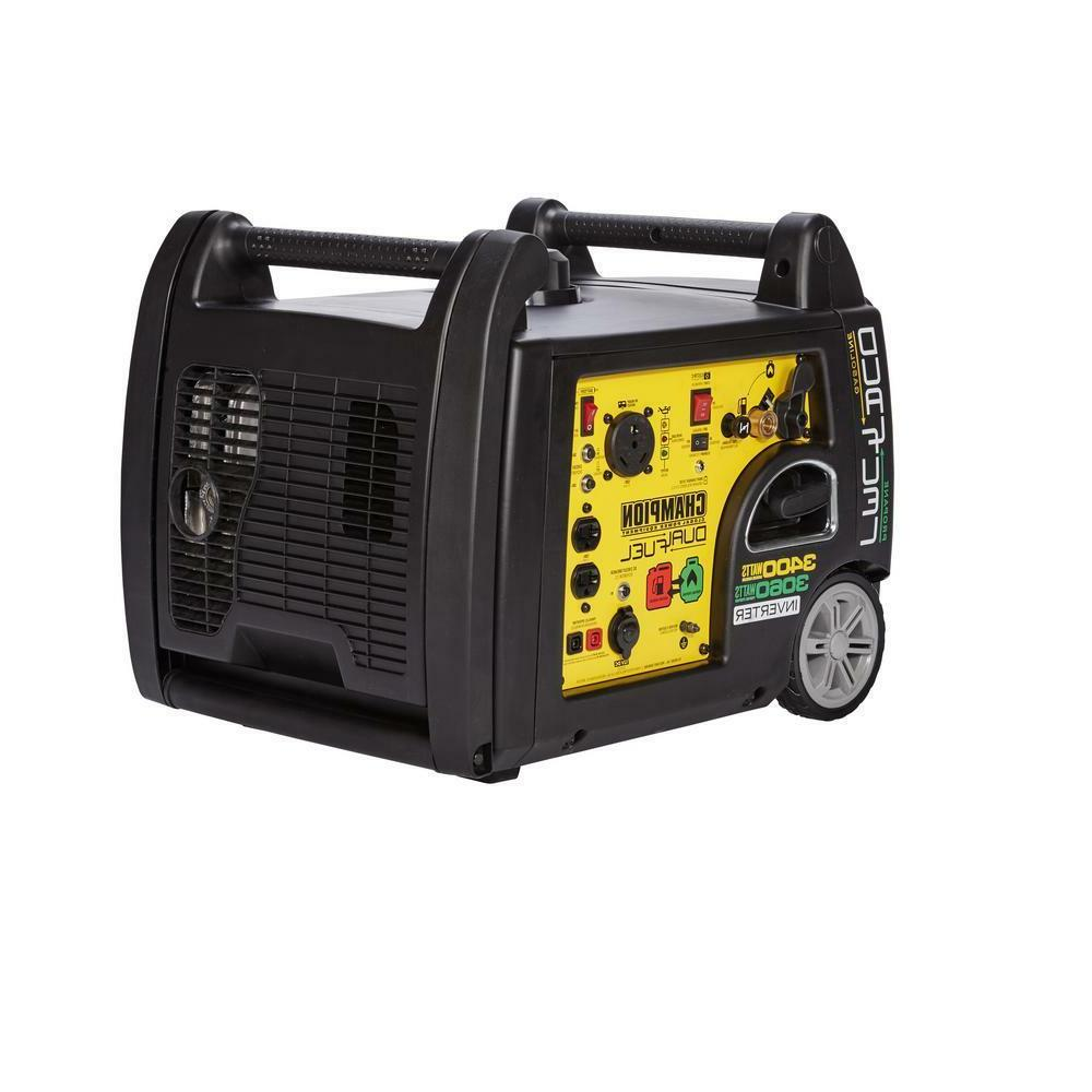 portable electric start 3 400 watt dual