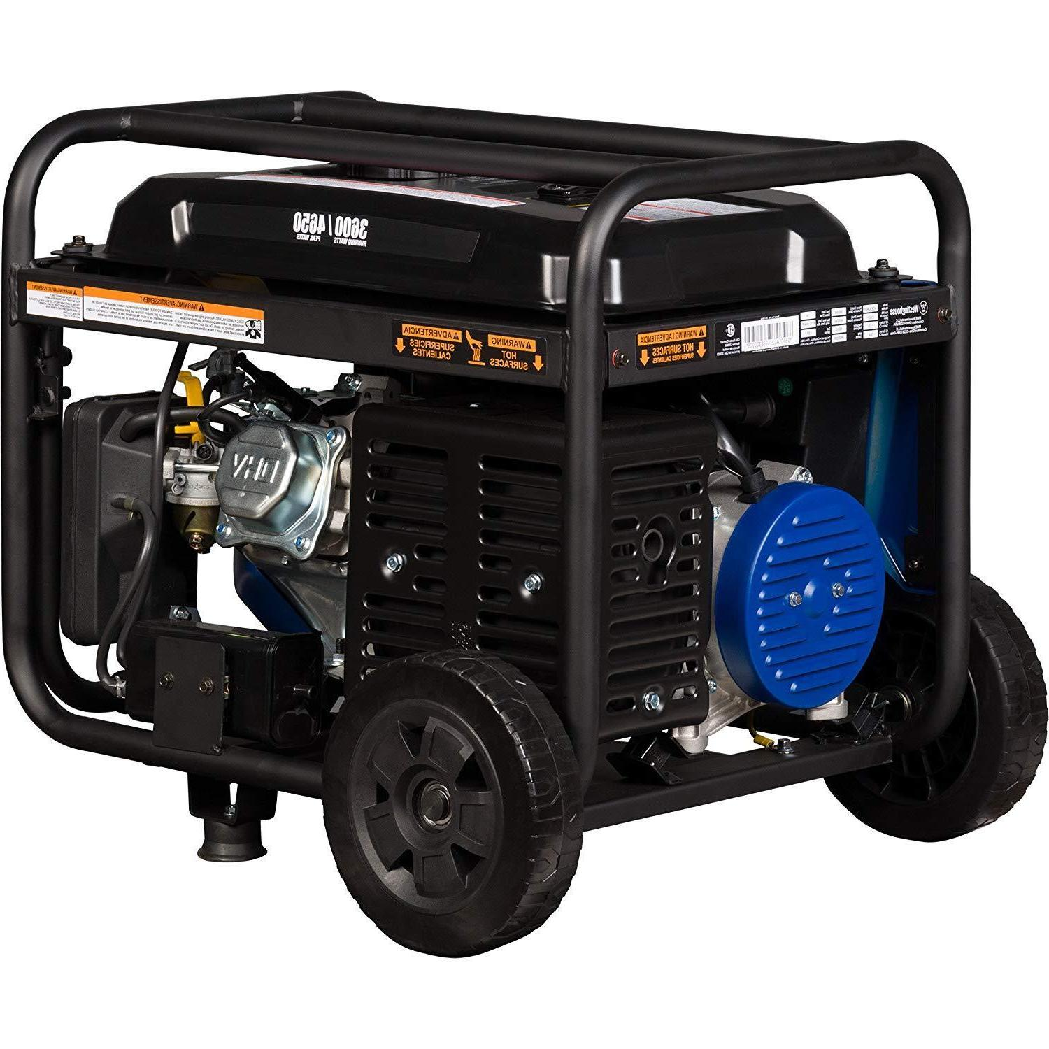 Portable Generator WGen3600 Rated & Peak