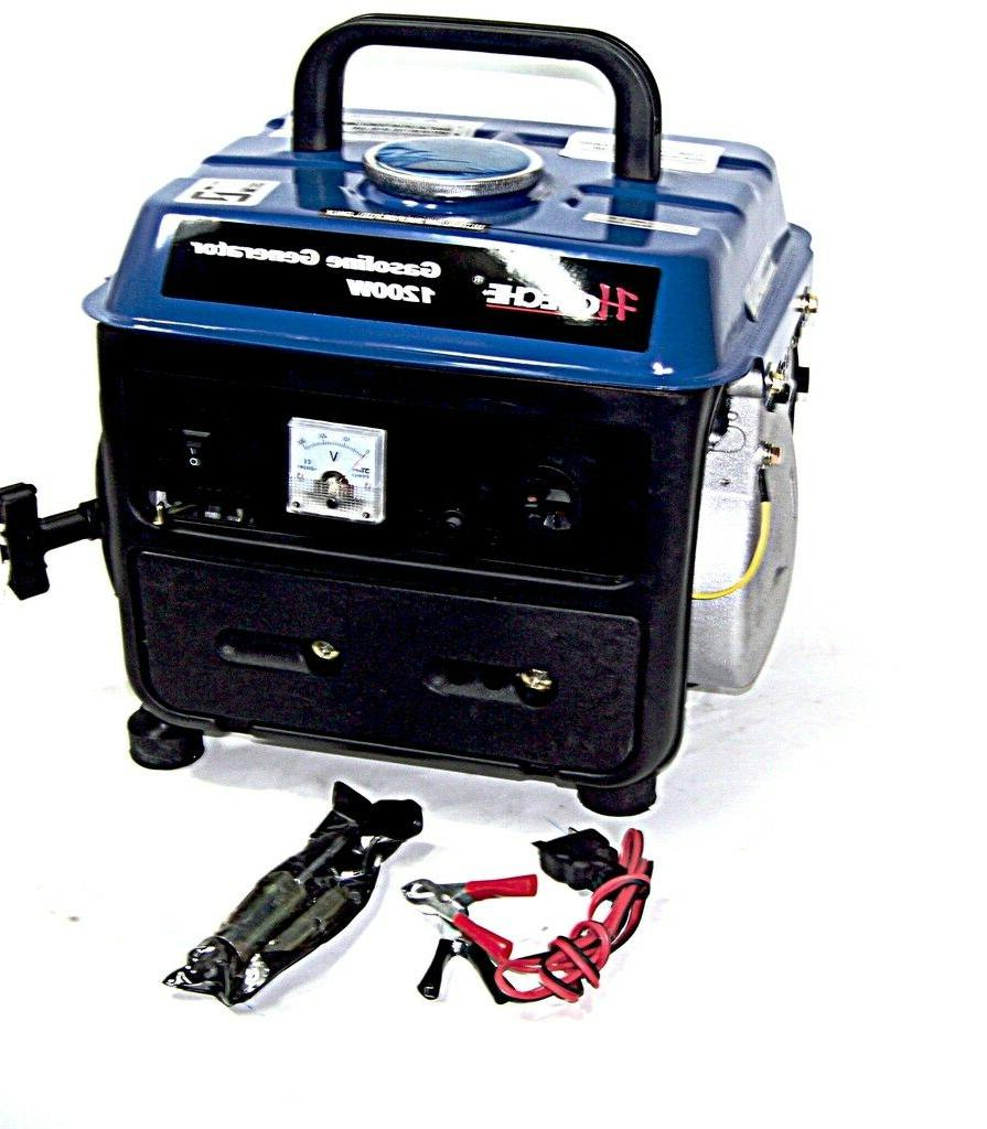 PORTABLE GASOLINE POWER GENERATOR OUTPUT 120V/60HZ