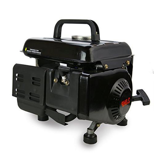 XtremepowerUS Portable Power Generator,Black