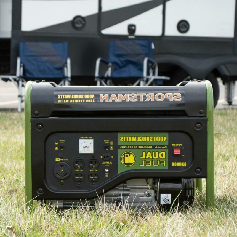 Sportsman Watt Dual Fuel 7 HP 4 stroke OHV