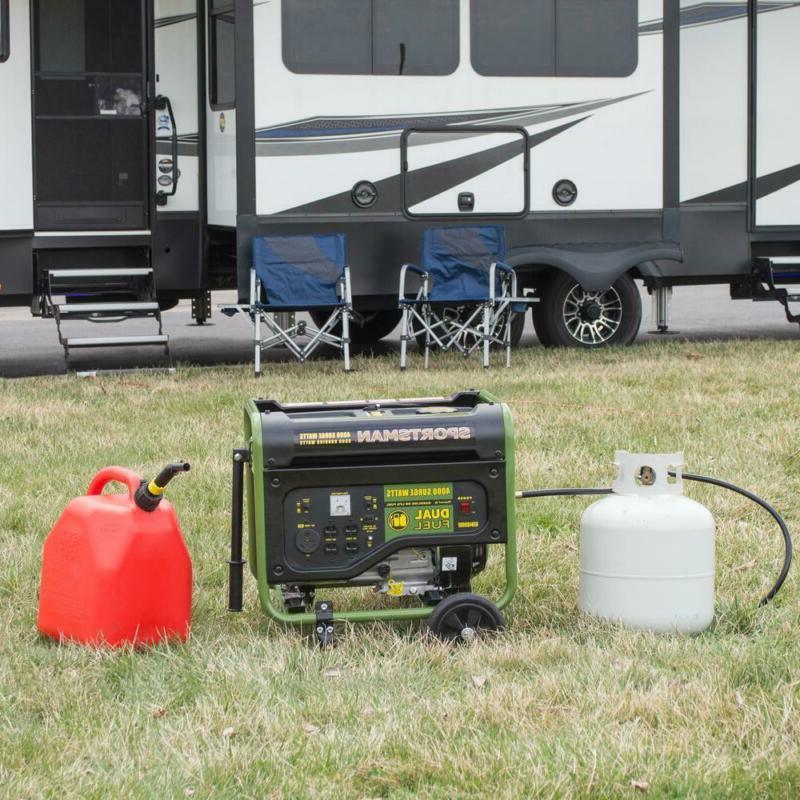 Sportsman Generator 4000/3500 Watt Fuel Powered 7 OHV