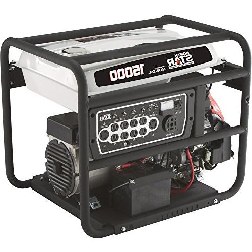NorthStar Generator - 15,000 Watts, 13,500 Rated EPA and CARB-Compliant