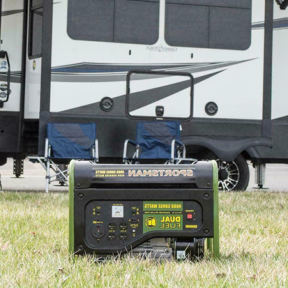 Sportsman Portable Fuel Powered Generator Home RV