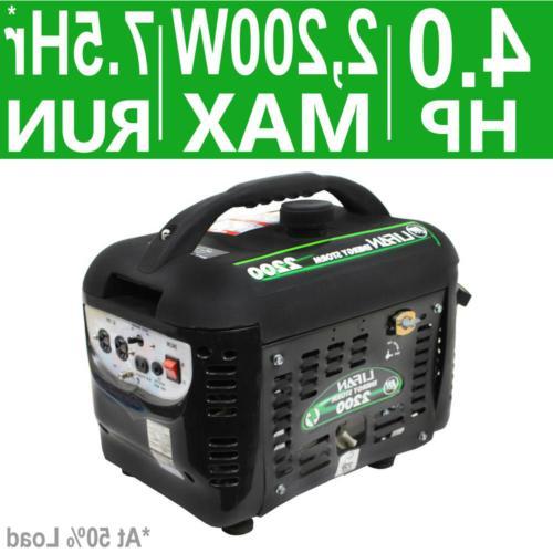 Portable Generator Gasoline Energy Storm 2200/1800-Watt Camping Outdoor