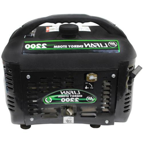 Portable Generator Gasoline Powered Energy 2200/1800-Watt Camping