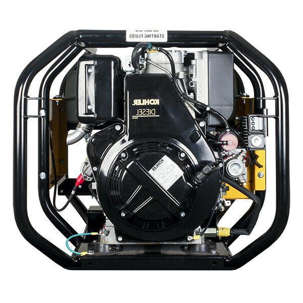 PORTABLE GENERATOR 6,000 Watt 9 Hp 120/240V