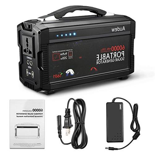 portable generator power inverter 220wh