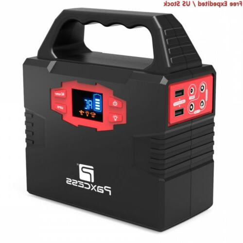 portable generator power station