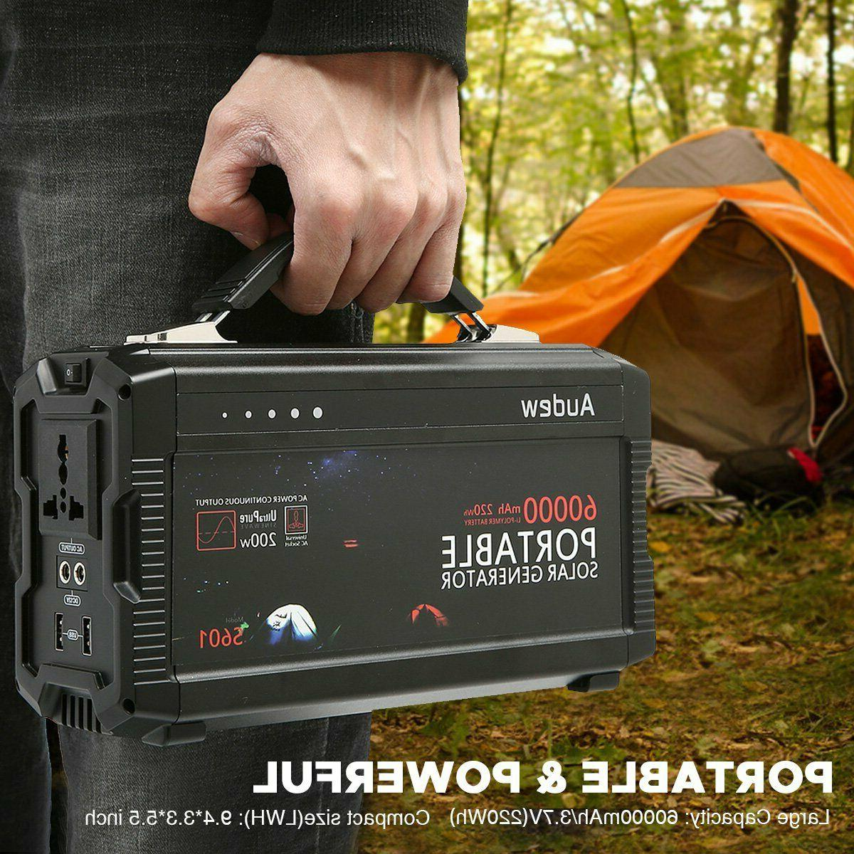 Audew Portable Inverter Generator 12V 220Wh