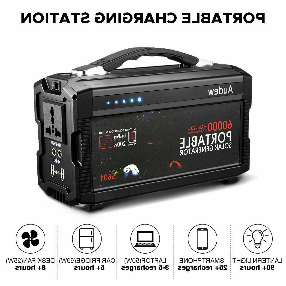 Audew Portable Battery Generator Power 12V
