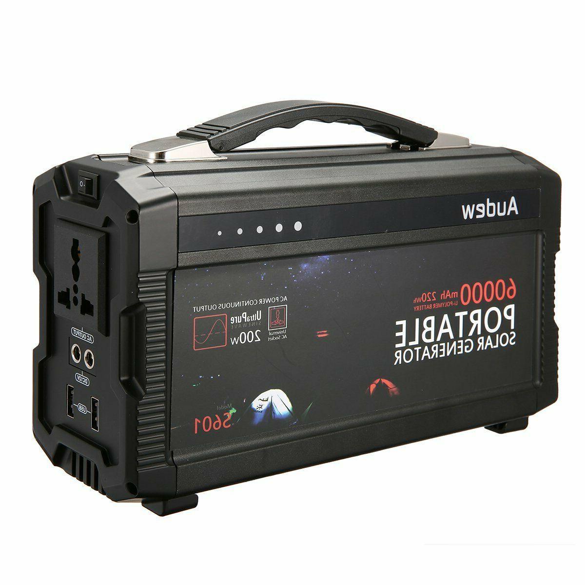 portable inverter battery generator power source lithium