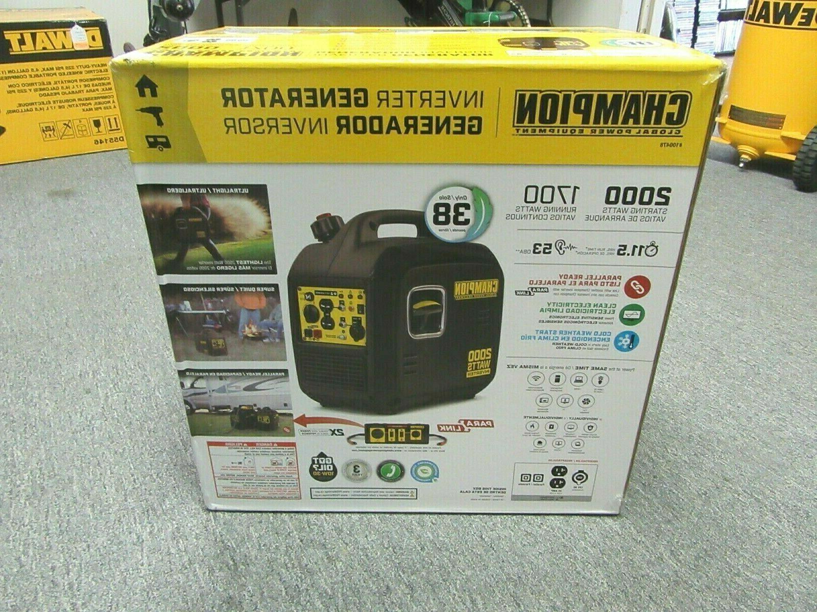 portable inverter generator 2 000 watt
