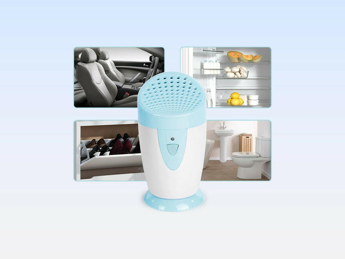 portable ozone generator deodorizer and air purifier