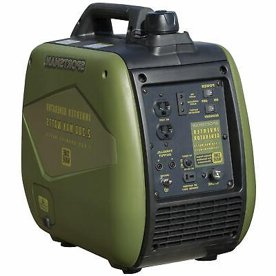 portable power generator inverter gas