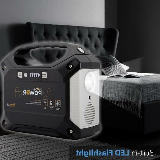 Portable Generator - Rechargeable Supply 42,000mAh