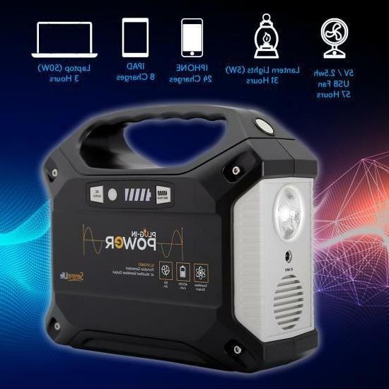 Portable Generator - Rechargeable Battery Power Supply 42,000mAh
