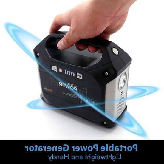 Portable Power Generator Rechargeable Power Supply