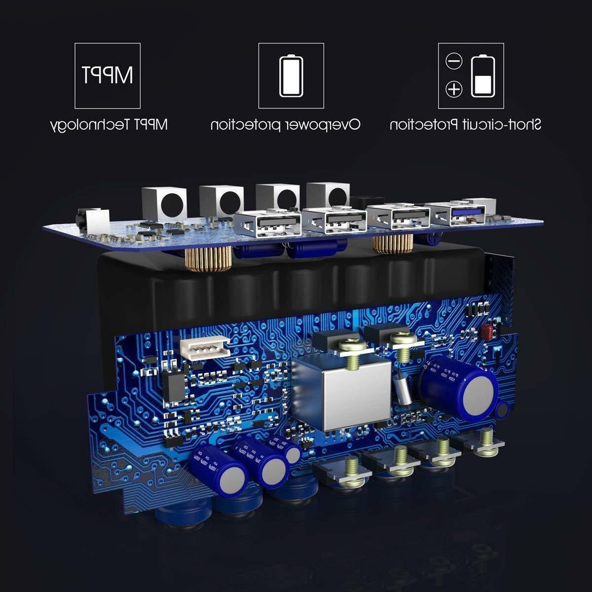 Portable Power Station Quiet Generator AC