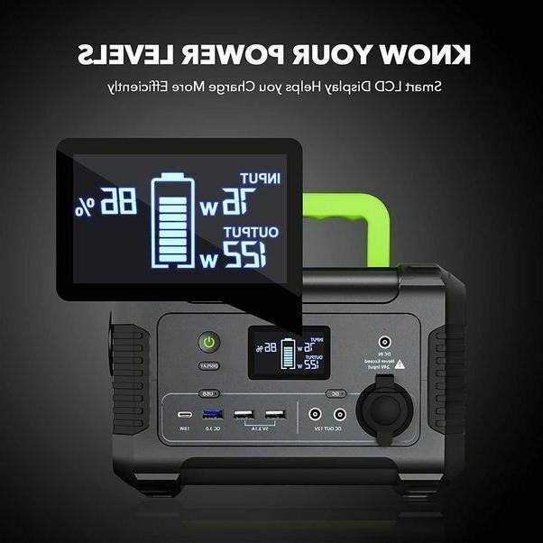 Portable Power 200, 230Wh/62400mAh Camping -