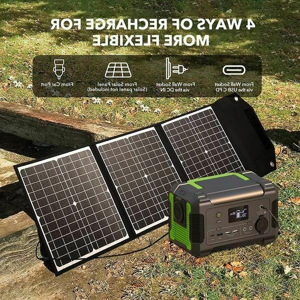Portable 230Wh/62400mAh Solar Generator - 2020 Update